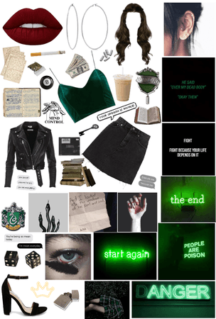 SLYTHERIN: The Cunning