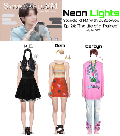Neon Lights K.C., Gem, & Corby on Standard FM with DJSeowoo