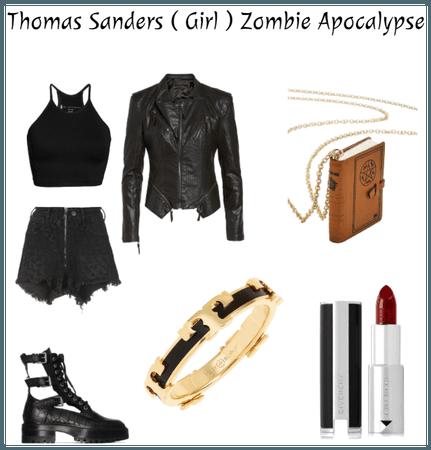 Thomas Sanders (Girl ) Zombie Apocalypse