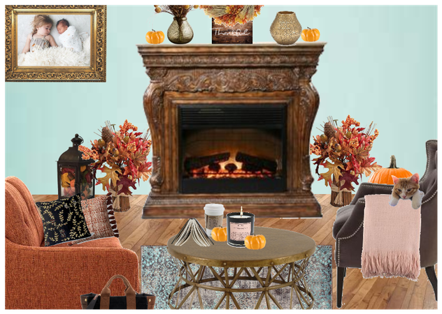 eclectic fall decor