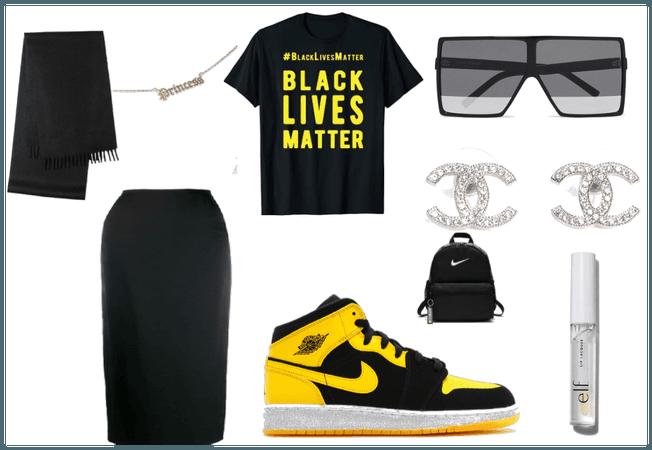 Black lives matter fit