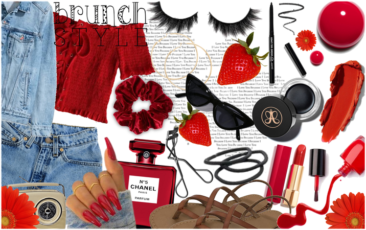 """""""A Strawberry Brunch Style Fit for Sue"""""""
