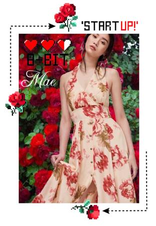 8-BIT Mae Debut Concept Photo