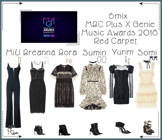 《6mix》MBC Plus X Genie Music Awards 2018