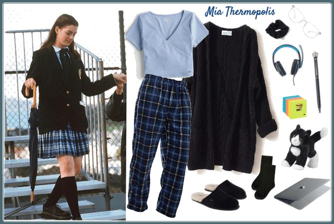 Mia Thermopolis (home-school) - Disney bounding
