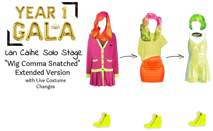 Dei5 3023 Year 1 Gala | Lan Caihe Solo Stage