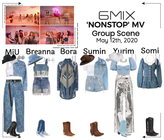 《6mix》'NONSTOP' Music Video