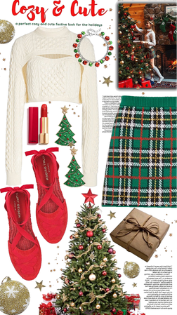 cozy and cute for the holidays!