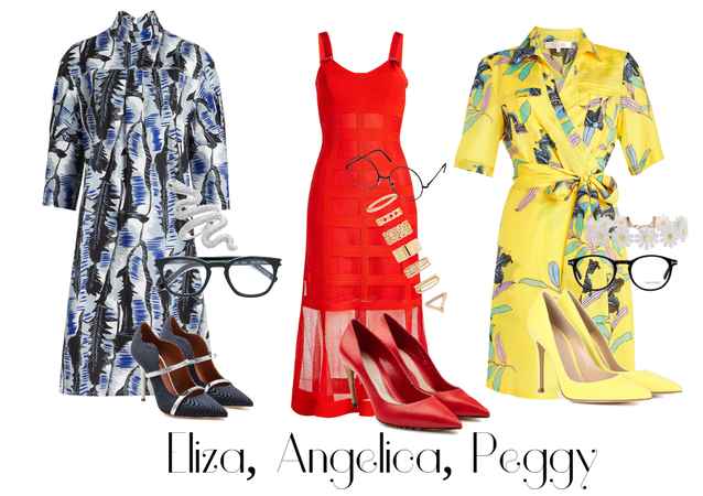 Eliza, Angelica, Peggy (Personal Life)