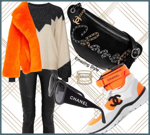 Orange you glad I said Chanel