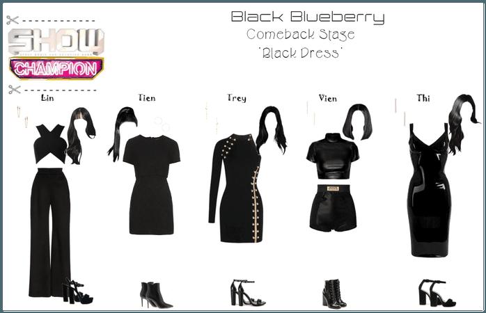(Black Blueberry) Comeback Stage 'Black Dress'