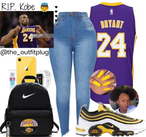 R.I.P. Kobe Bryant 👼💛💜