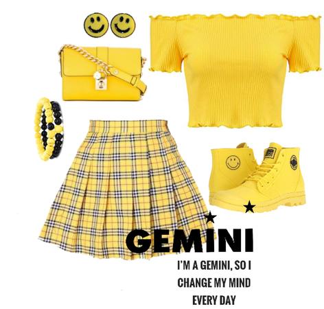 Yellow Gemini