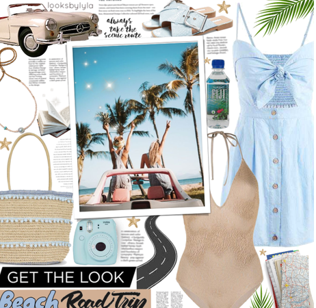 Get The Look: Road trip meets beach day