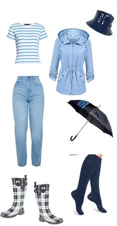 blue hurt rain