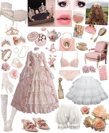 Neo Rococo Rose Princess