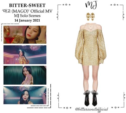 BITTER-SWEET [비터스윗] (MJ) '마고 (MAGO)' Official MV 210114