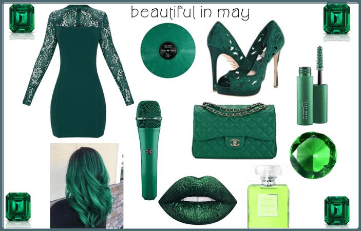 beautiful may emerald
