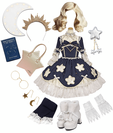 Winter Star (lolita coord)
