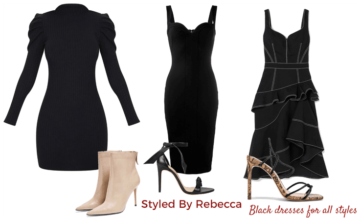 Black Dresses For All Styles