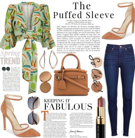 Puffed Sleeve Style