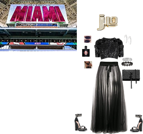 Dress JLo for the Super Bowl