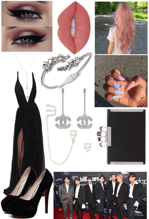 BTS BBMA's 2019 Red Carpet Outfit