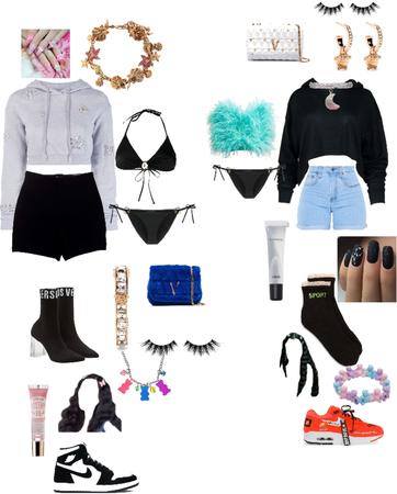 baddie outfit 😝😝