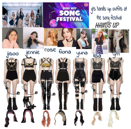 Gts hands up outfits