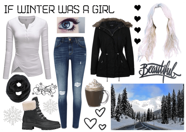 If winter was a girl