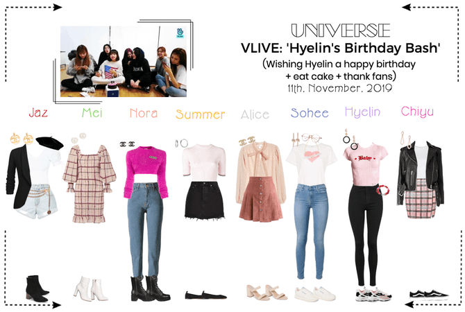 UNIVERSE VLIVE 'Hyelin's Birthday Bash'