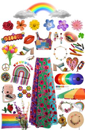 floral rainbow 🌈 💐