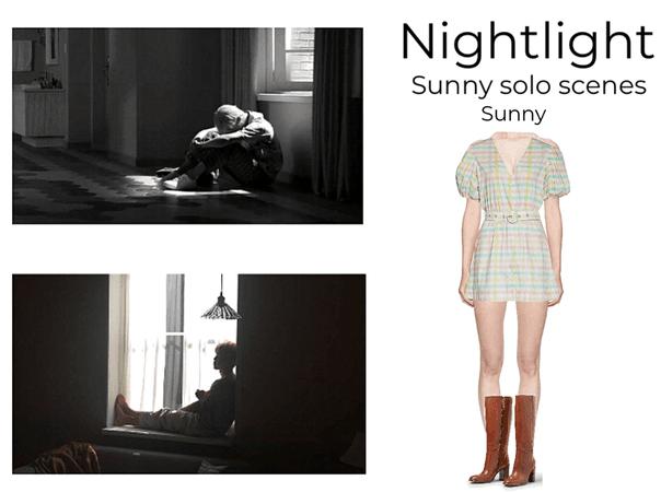 Nightlight 'iriwa' sunny solo scenes