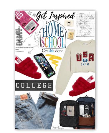 College Home School 📚