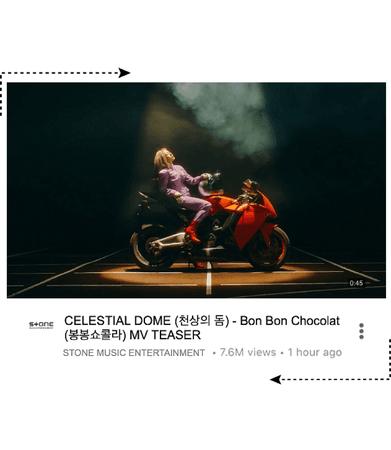 CELESTIAL DOME - BON BON CHOCOLAT MV TEASER