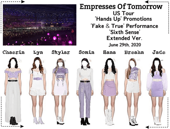 EOT(내일의 황후)   US Tour: Dallas, Texas Performance