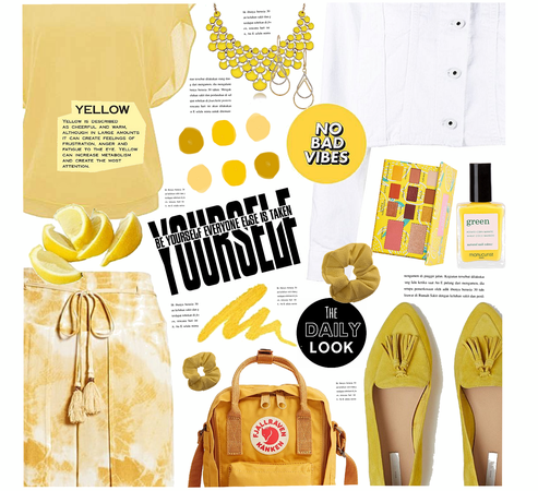 #OOTD: Yellow Vibes