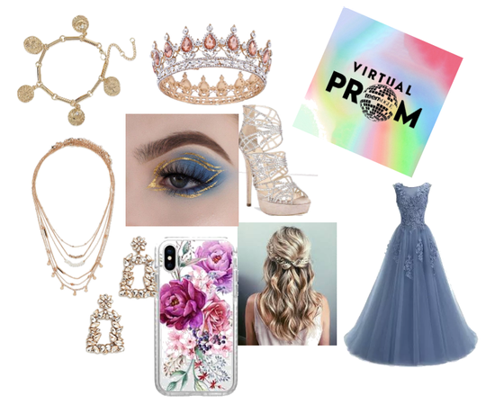 another prom dress but for the prom challenge!
