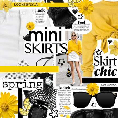 skirt chic - mini skirt