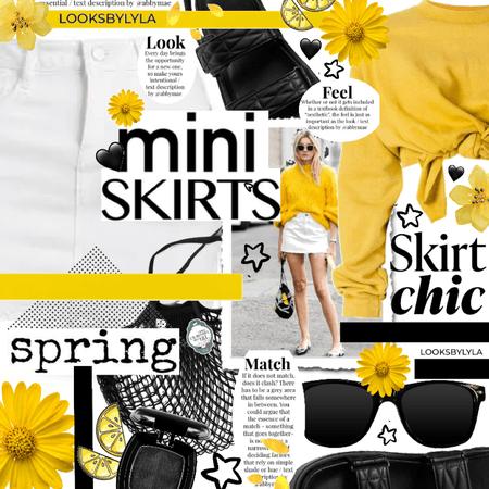 skirt chic - mini skirt
