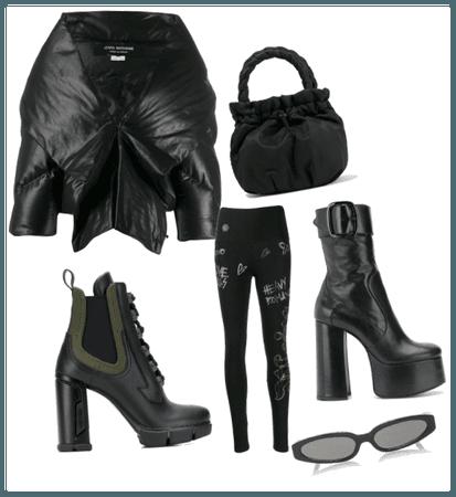 Black retro