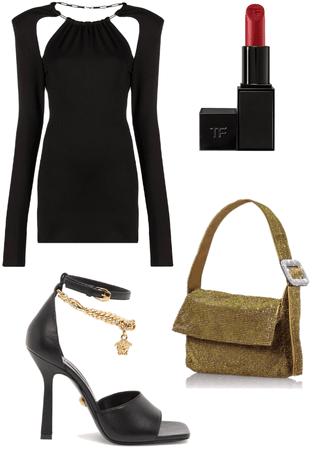 mini black dress 🖤