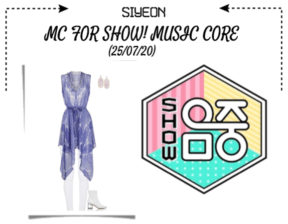 *SYEON* | MC FOR SHOW! MUSIC CORE