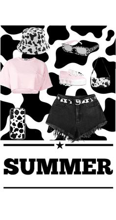 cow print summer