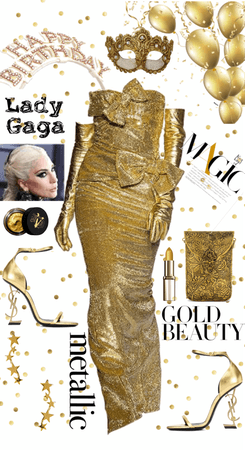Gaga in Gold - HBD✨✨