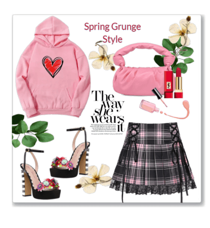 Spring Grunge style outfit