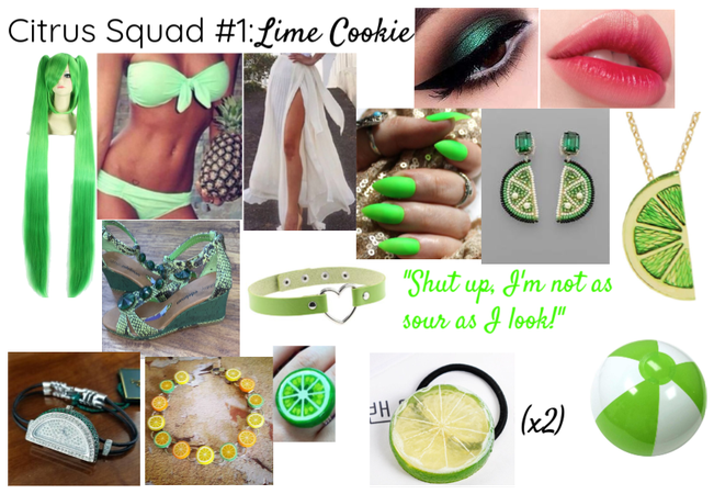 Citrus Squad #1: Lime Cookie