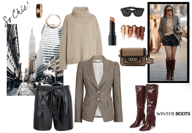 Chic street outfit