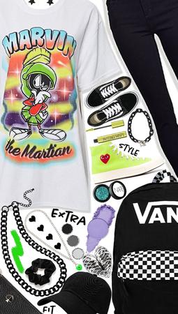 Skater Gorl🤣 Graphic tee inspired!