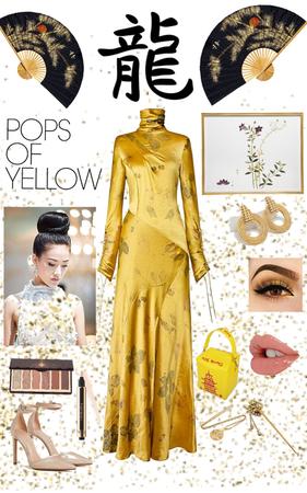 Chinese Formal (Yellow)